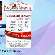 2017-18 Season Subscription! The Ohio Valley Symphony
