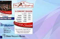2017-18 Season Subscription! The Ohio Valley Symphony