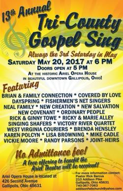 170520 Tri County Gospel