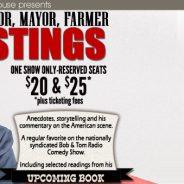 DREW HASTINGS- Comedian, Mayor, Farmer & Author