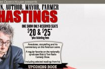 DREW HASTINGS- Comedian, Mayor, Farmer & Author
