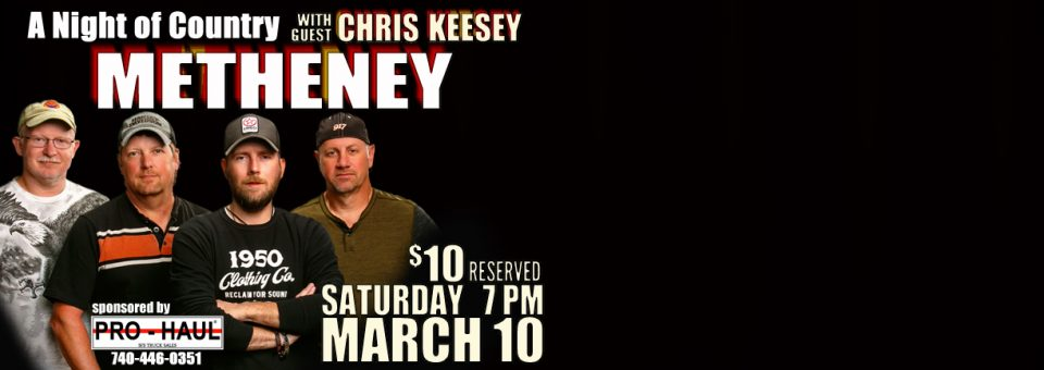METHENEY: A Night of Country