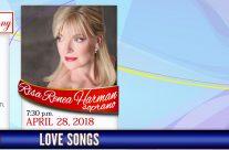 Love Songs featuring Risa Renae Harman, soprano