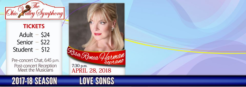 Love Songs featuring Risa Renae Harman, soprano