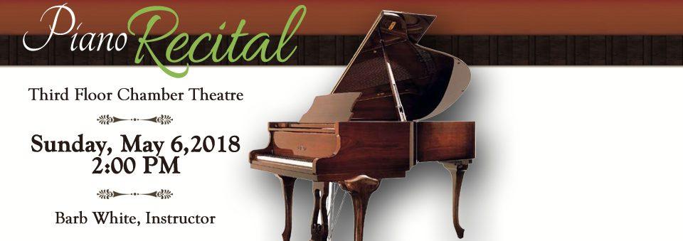 Barb White's Piano Student Recital