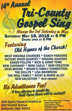 180519 Tri County Gospel