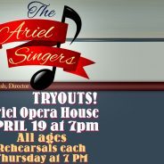 The Ariel Singers at Chautauqua! TRY-OUTS