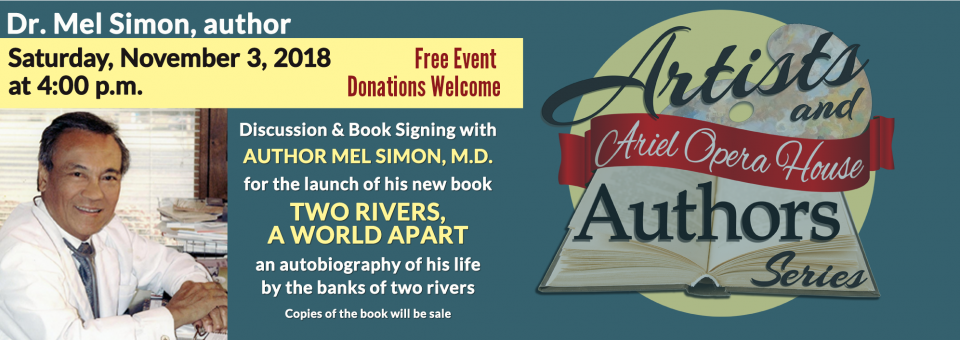Mel Simon, M.D. Book Signing for TWO RIVERS A WORLD APART
