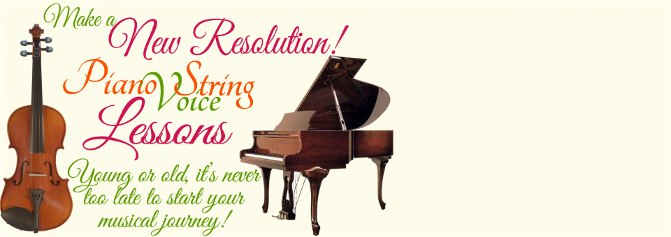 A New Resolution! Music Classes!