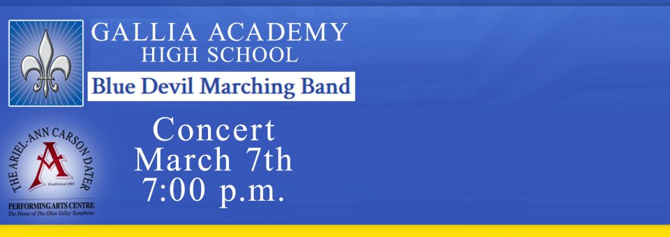 GAHS Band Concert