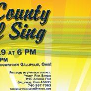 15th Annual Tri-County Gospel Sing