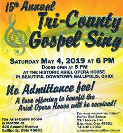 190504 Tri County Gospel