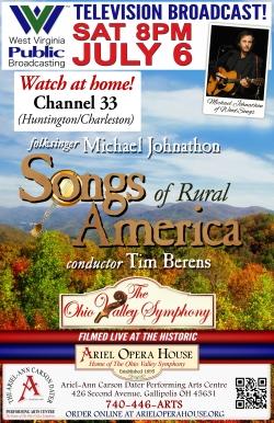 OVS Songs of Rural America on WVPBS!   Ariel Opera House (Ariel Theatre)