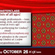 Masterclass with Lindsey Goodman