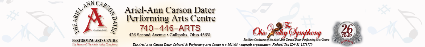 The Ariel-Ann Carson Dater Performing Arts Centre