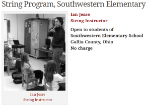 String Program, Southwestern