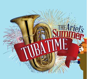 Ariel's Summer Tuba-time