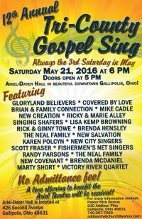 160521 Tri County Gospel