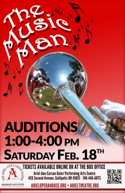 1701617 Music Man Poster