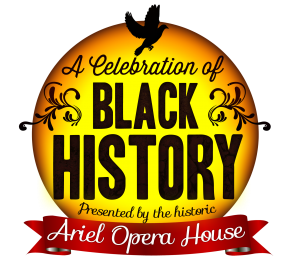 Ariel's Black History Logo