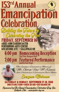 160916 Emancipation Day Celebration