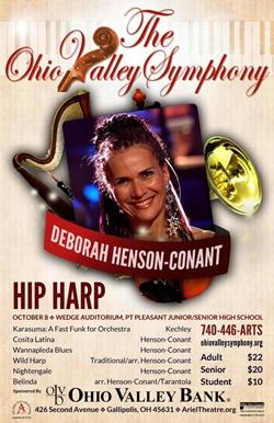 Poster shoing Deborah Henson Conant