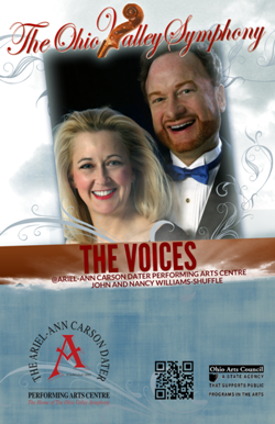 Poster featuring singers
