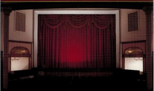Ariel Stage Curtains designed by Jessie E. Cooper