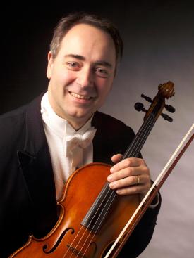 Bernard De Gregorio with his viola
